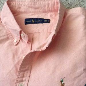 NWOT. Ralph Lauren long sleeve button down. XXL.